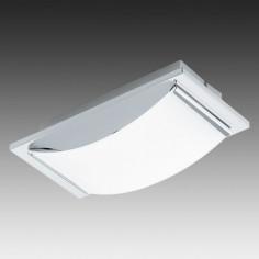 LED плафон Eglo Wasao 94465 - 1х5,4 W, 510 lm, хром, бял
