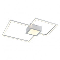 LED плафон Tween Light Oronto - 24 W, 1400 lm, 3000 K, квадратен
