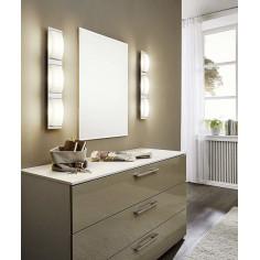 LED плафон Eglo Wasao 94467 - 3х5,4 W, 1530 lm, хром, бял