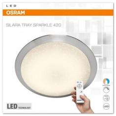 LED плафон Osram Silara Tray Sparkle, 24 W, 420 мм, димируема, с дистанционно