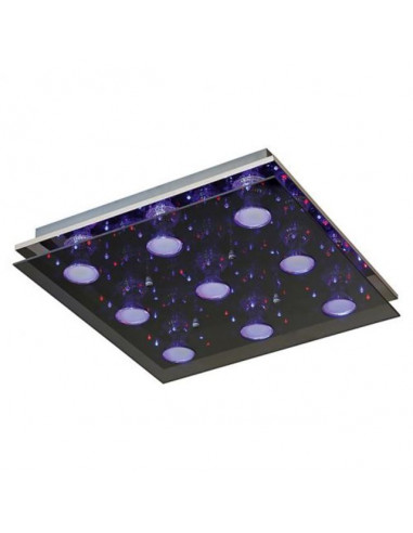 LED плафон Tween Light Susa - 9x4 W, 9хGU10, с дистанционно