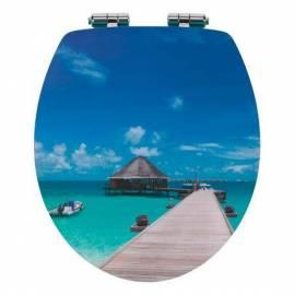 Капак за тоалетна чиния Bora Bora, MDF Acryl, забавено падане