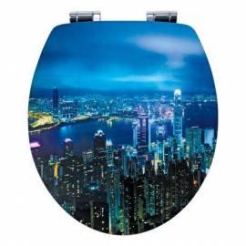 Капак за тоалетна чиния Hong Kong, MDF Acryl, забавено падане
