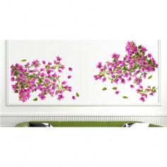 Imagén: Декоративен стикер Бугенвилия - 48х68 см