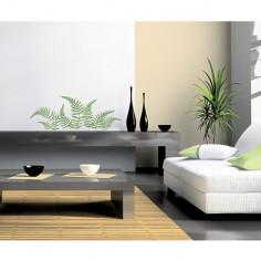 Imagén: Декоративен стикер Папрат - 21х29,7 см