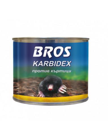 Карбид против къртици Bros - 500 г, гранули