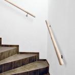 Парапет за стена, смърч - 150 см, ø42мм