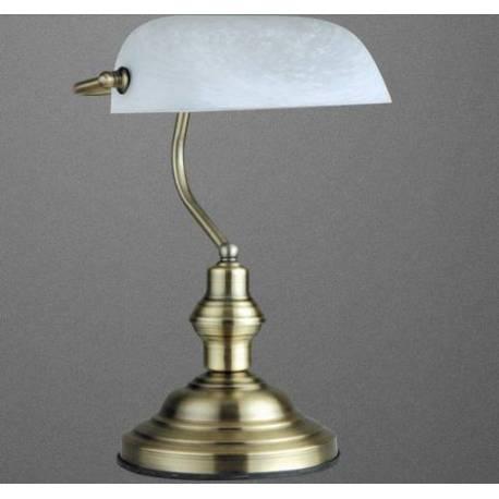 Настолна лампа 1 x E27 60W, месинг