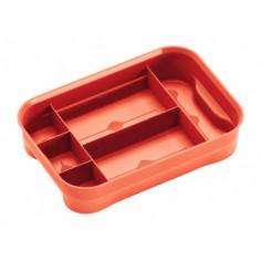 Органайзер за кутия за съхранение Clear XXS 25 - 26х19х14 см