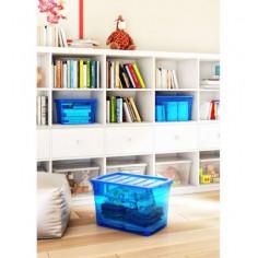 Пластмасова кутия за съхранение KIS Omni Box S - 59х39х30 см, 45 л, с капак