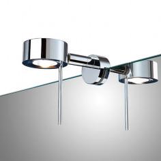 Imagén: LED осветително тяло за огледало Camargue Corvi - 5 W, клас на енергийна ефективност А