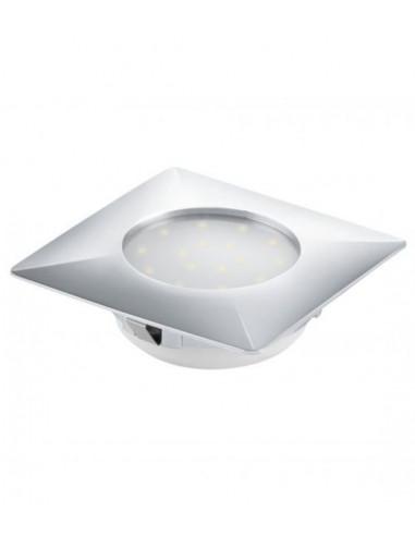 LED луна Tween Light, 102x102 мм, хром, 12 W