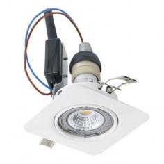 Imagén: LED луни, 85x85 мм, подвижни, GU10, 5 W, бели, 3 броя