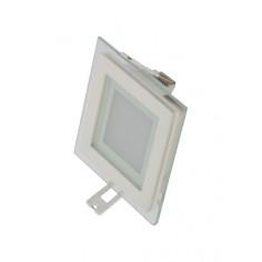 LED луна, квадрат, 100х100 мм, 6 W