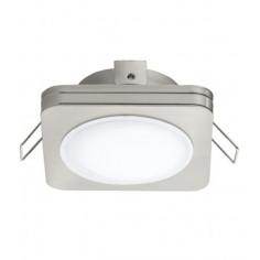 LED луна Tween Light, 85x85 мм, никел мат, 6 W