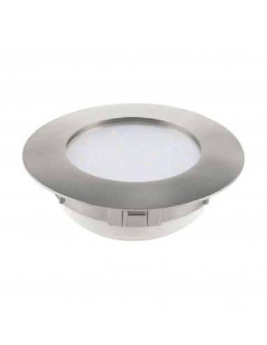 LED луна Tween Light, Ø102 мм, никел мат, 12 W