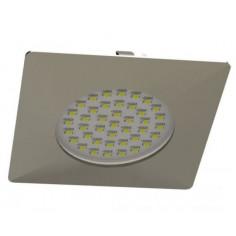 LED луна Tween Light, 102x102 мм, никел мат, 12 W