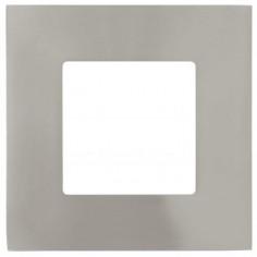 LED луна, никел мат, 85х85 мм, 2,7 W
