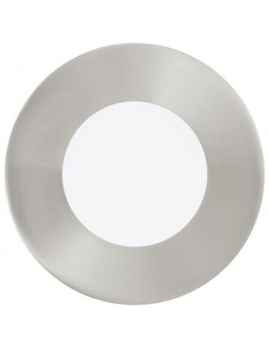 LED луна, никел мат, Ø85 мм, 2,7 W