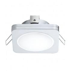 Imagén: LED луна Tween Light, 85x85 мм, хром, 6 W