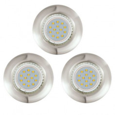 LED луни Tween Light, Ø85 мм, GU10, 3 W, 3 броя