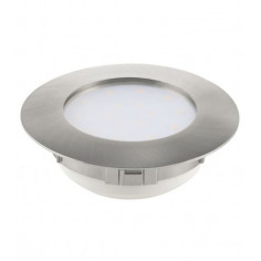 LED луна Tween Light, Ø102 мм, димиуема, никел мат, 12 W