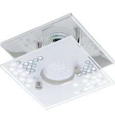 LED аплик Toneon, Eglo 75232, 1х3W, 200 lm, хром/сатен/прозрачен