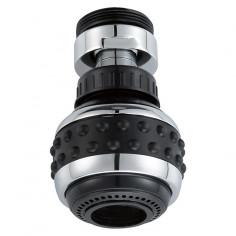 Душ приставка за кухненски смесител - M22/M24, черен/хром
