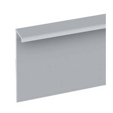 PVC профили за мокет - сребро мат