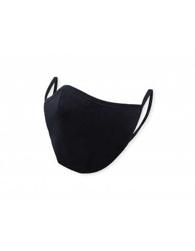 Защитна маска за многократна употреба - черна