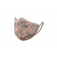 Защитна маска за многократна употреба - розова