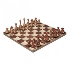 """Луксозен шах """"WOBBLE"""" - цвят орех/клен - UMBRA"""