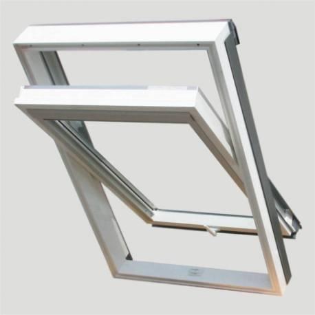 Покривен прозорец (размери - 66 x 118 см), PVC профил
