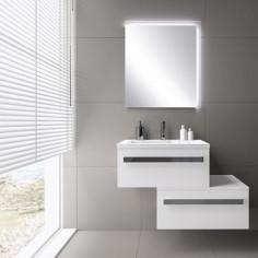 Огледало с LED осветление Garda, 70х80 см