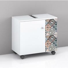 Imagén: Шкаф под мивка - 35.6x62.2x57.5 см, бял, матов