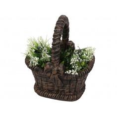 Декоративна саксия - кошница 48х38х57 см.