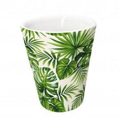"Порцеланова чаша за кафе ""PALMAS"" - 100 мл. - Vin Bouquet"