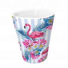 "Порцеланова чаша за кафе ""FLAMENCOS"" - 100 мл. - Vin Bouquet"