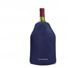 Охладител за бутилки голям - цвят син - Vin Bouquet