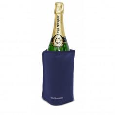 Охладител за бутилки с гел - син - Vin Bouquet