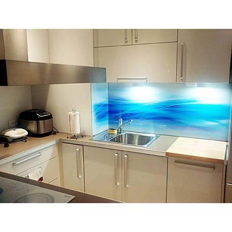 Принт върху стъкло - за кухни, спални