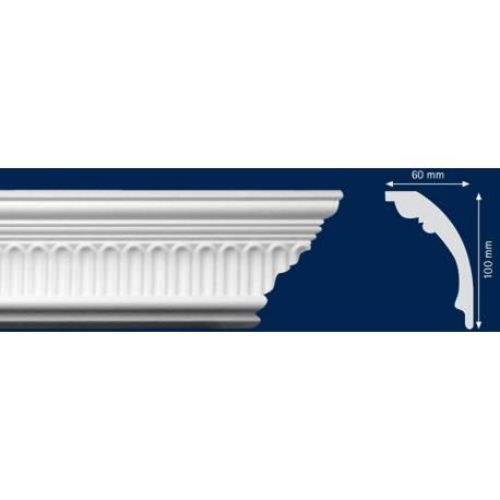 Декоративен перваз - 60 x 100 мм