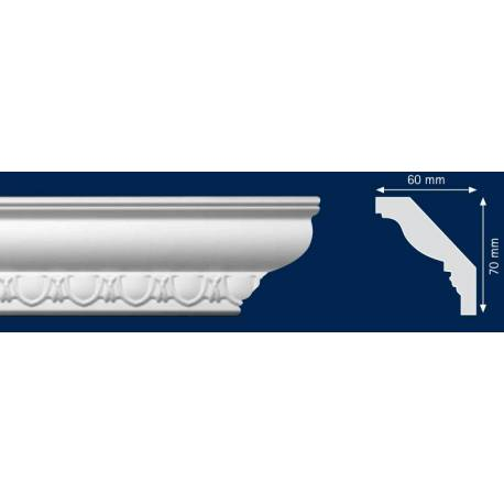 Декоративен перваз - 60 x 70 мм