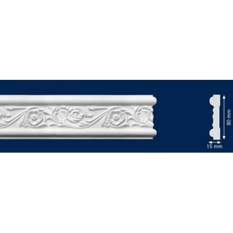Декоративен перваз  - 15 x 80 мм