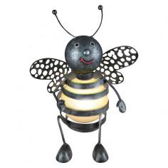 Соларна лампа - пчела 22х17х25 см.
