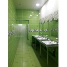 Гранитогрес Yalta - 40х40 см, зелен