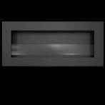 Биокамина стенна - ДЕЛТА L 40x120x12 см