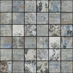 Мозайка Bagdad - 29,75x29,75 см, сива