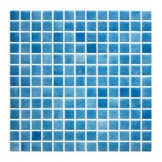 Imagén: Мозайка HM-202 - 31,5x31,5 см, стъкло, синя