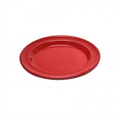 """Керамична десертна чиния """"SALAD/DESSERT PLATE""""- цвят червен - EMILE HENRY"""